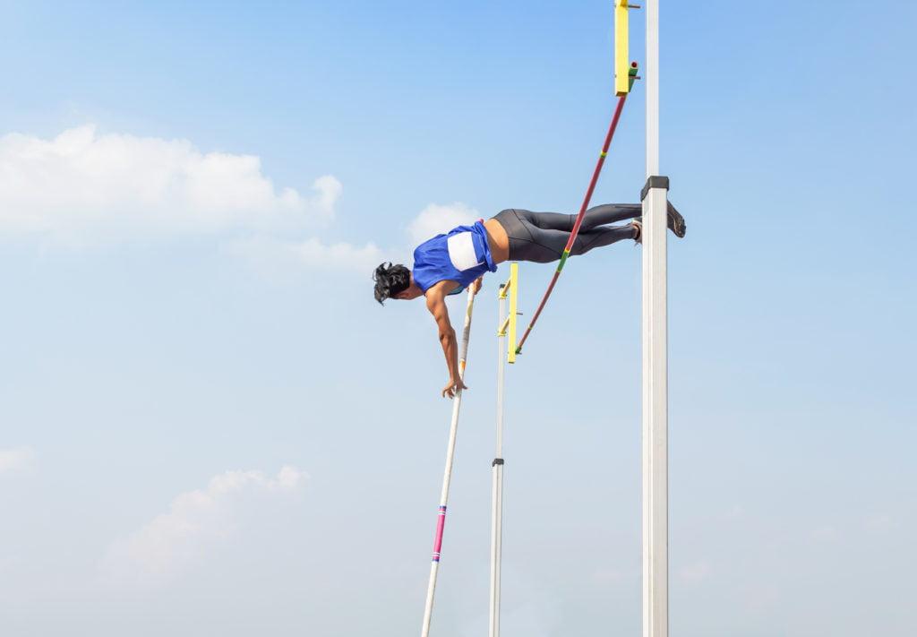 棒高跳の世界記録・男子・女子