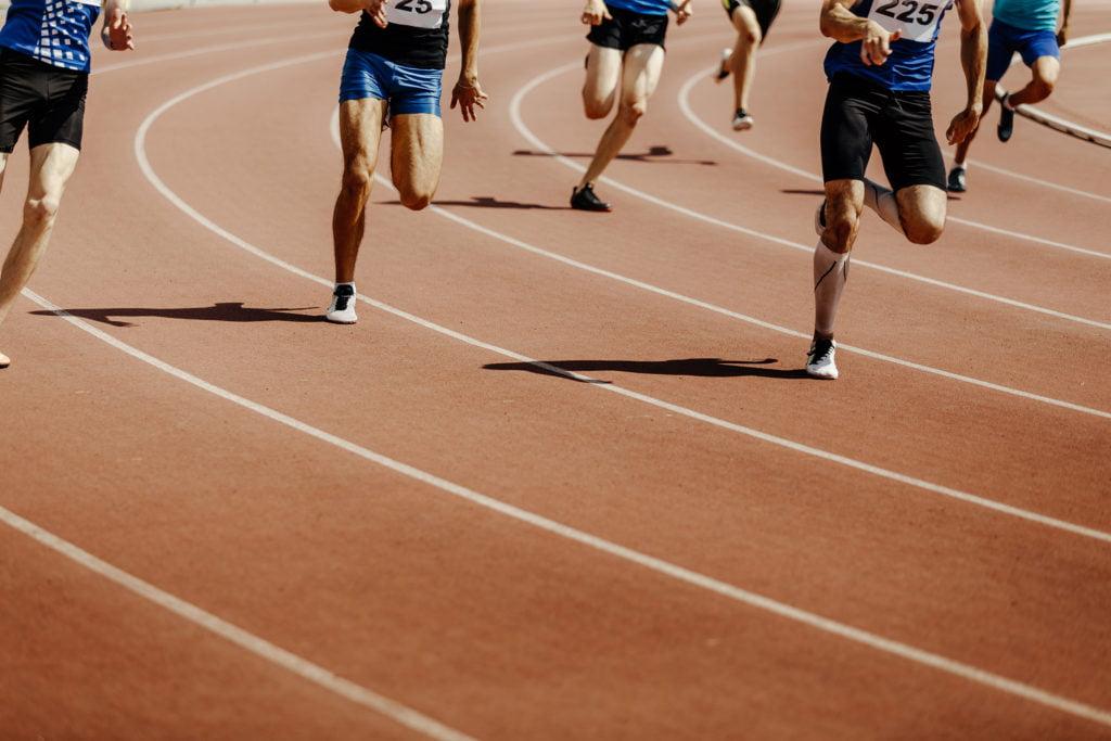 200m走の世界記録は何秒?男子と女子