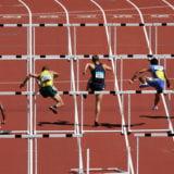 110mハードル&100mハードルの世界記録保持者のタイム