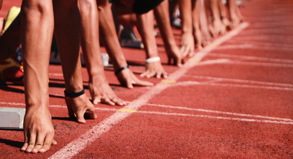 100m走の世界記録は何秒?男子と女子